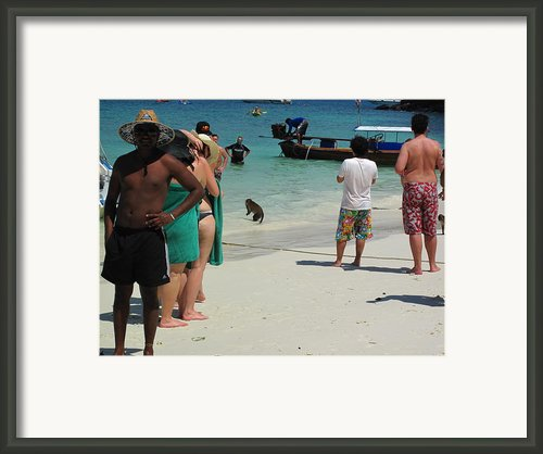 Long Boat Tour - Phi Phi Island - 0113180 Framed Print By Dc Photographer