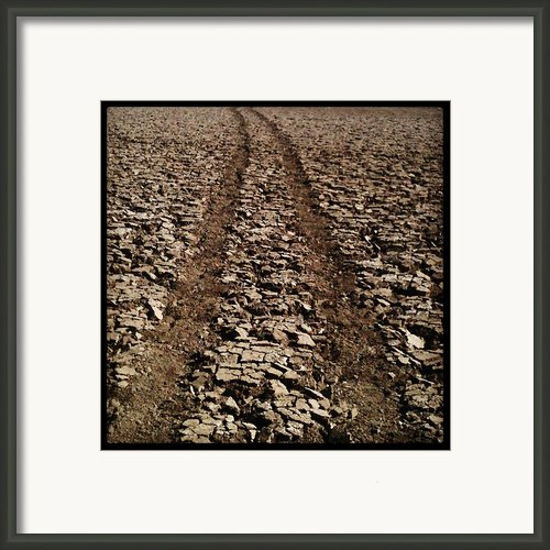 Long Road Ahead Framed Print By Brett Smith