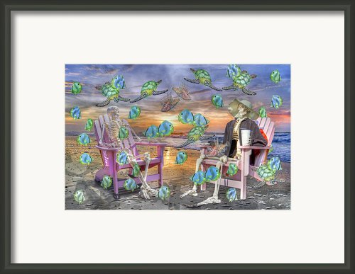 Long Strange Trip  Framed Print By Betsy A Cutler East Coast Barrier Islands