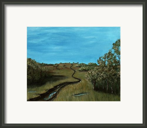 Long Trail Framed Print By Anastasiya Malakhova