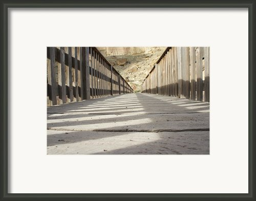 Long Walk  Framed Print By Curtis  Harper