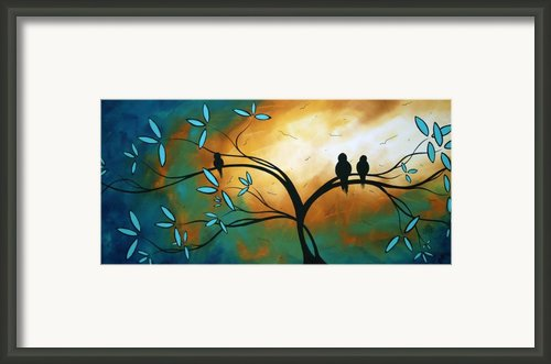 Longing By Madart Framed Print By Megan Duncanson
