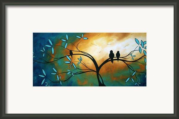 Longing By Madart Framed Print By Megan Duncanson