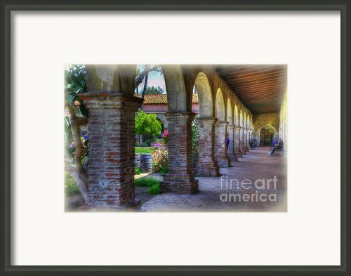 Looking Into History Framed Print By Joan Carroll