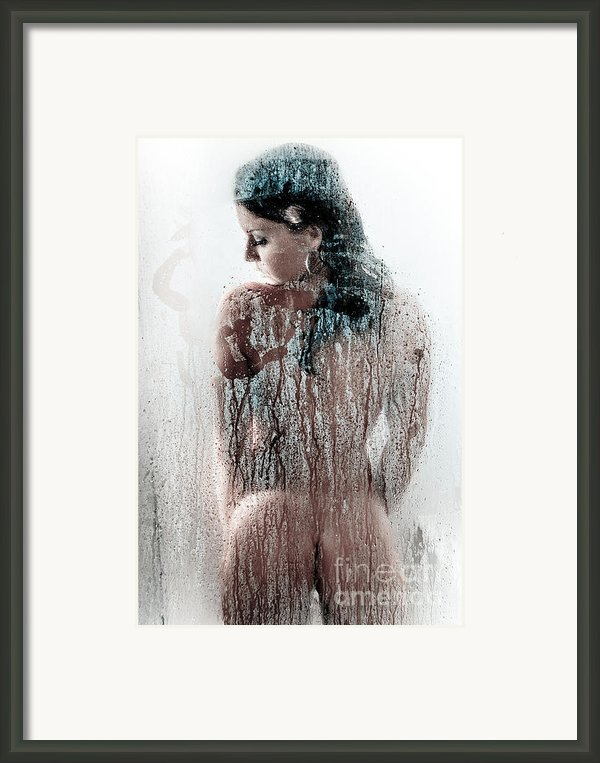 Looking Through The Glass 3 Framed Print By Jt Photodesign