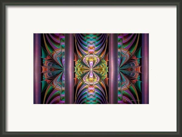 Loonie Behind Bars Framed Print By Peggi Wolfe