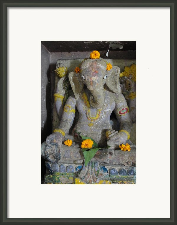 Lord Ganesha Framed Print By Makarand Kapare