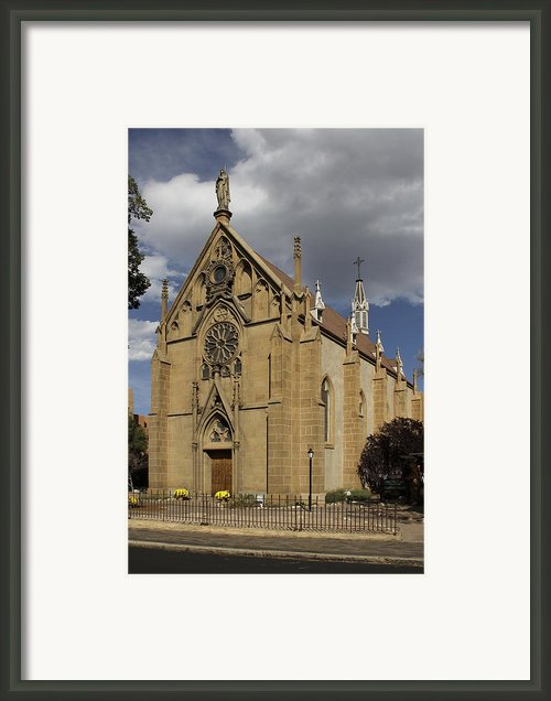 Loretto Chapel - Santa Fe Framed Print By Mike Mcglothlen