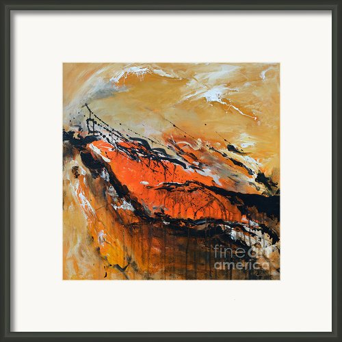 Lost Hope - Abstract Framed Print By Ismeta Gruenwald