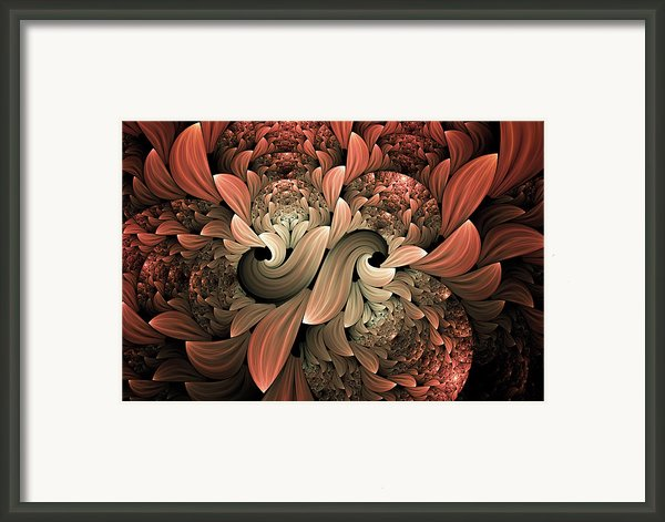 Lost In Dreams Abstract Framed Print By Zeana Romanovna