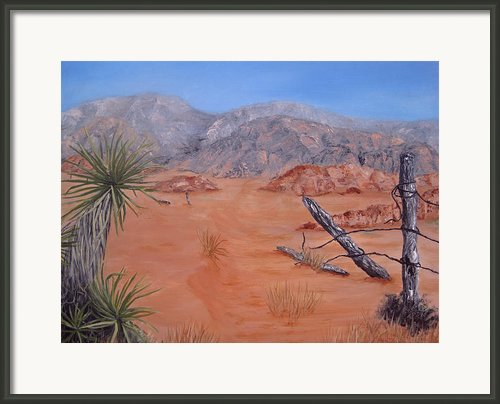 Lost Ranch Framed Print By Roseann Gilmore