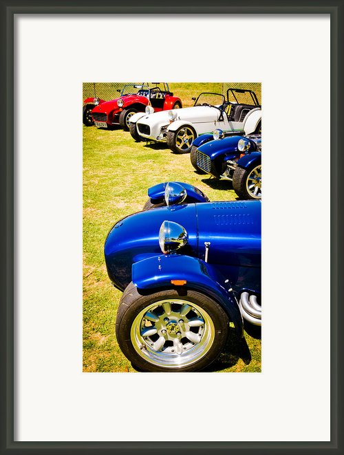 Lotus Seven Framed Print By Phil