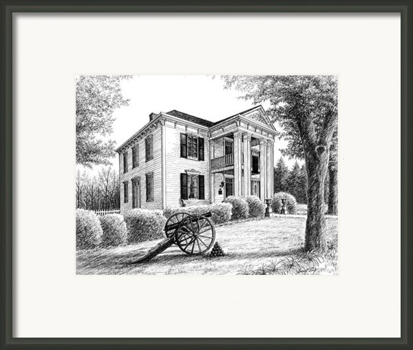 Lotz House Framed Print By Janet King