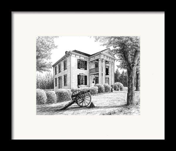 Lotz House Framed Print By Janet King