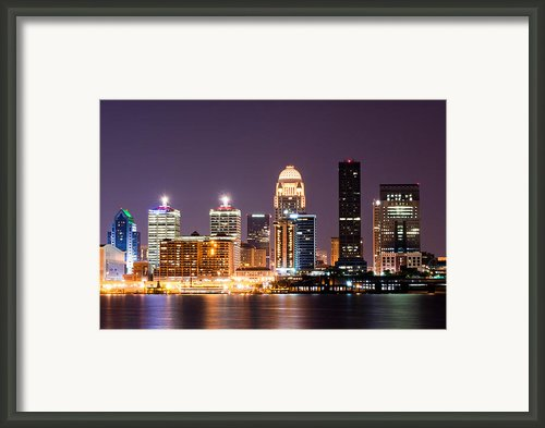 Louisville 1 Framed Print By Amber Flowers
