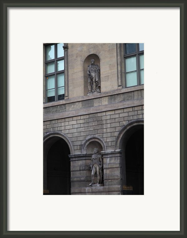 Louvre - Paris France - 011313 Framed Print By Dc Photographer