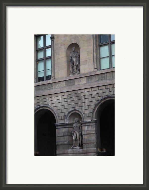 Louvre - Paris France - 011313 Framed Print By Dc Photographer