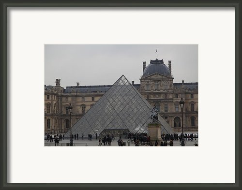 Louvre - Paris France - 011314 Framed Print By Dc Photographer