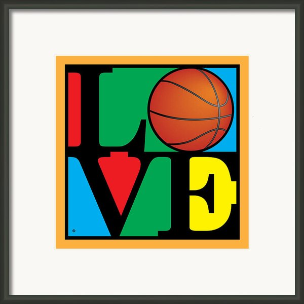 Love Basketball Framed Print By Gary Grayson