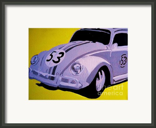 Love Bug Framed Print By Nickie Mantlo