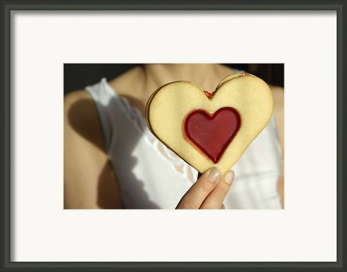 Love Heart Valentine Framed Print By Matthias Hauser