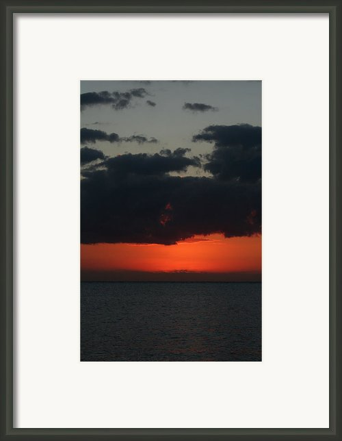 Love Is A Burning Thing Framed Print By Laurie Search