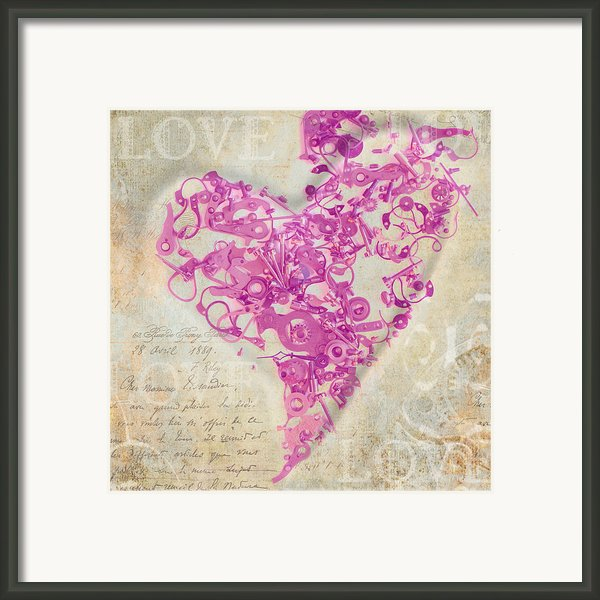 Love Is A Gift Framed Print By Fran Riley
