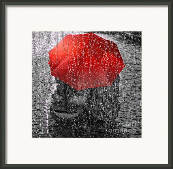 Love Framed Print By Mo T