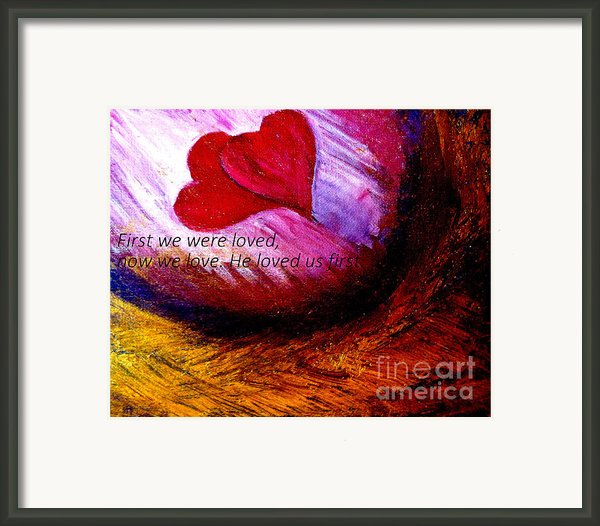 Love Of The Lord Framed Print By Amanda Dinan