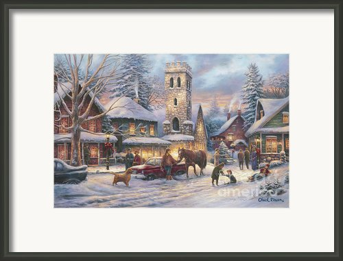Love Runs Deep Framed Print By Chuck Pinson