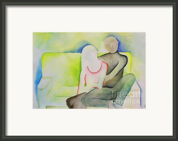 Love Seat Framed Print By Shannan Peters