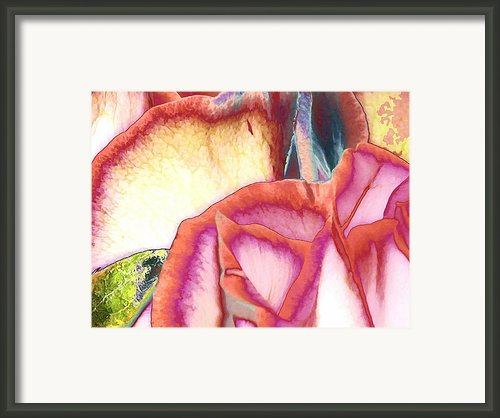 Love Story - At First Sight Framed Print By Wendy J St Christopher