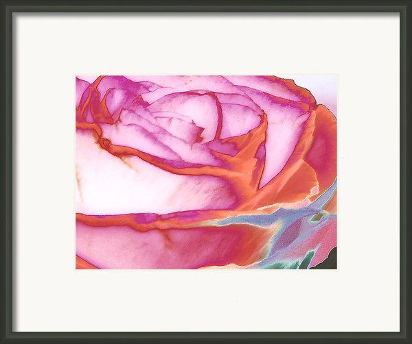 Love Story - Early Days Framed Print By Wendy J St Christopher