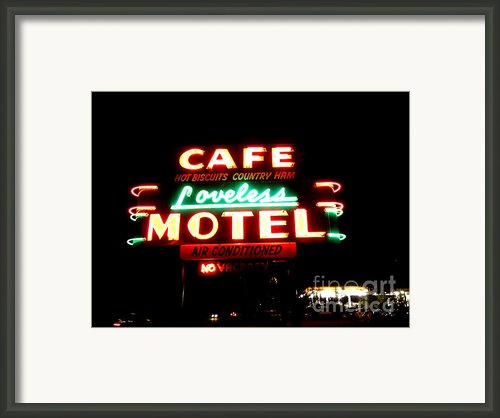 Loveless Cafe Framed Print By Linda Woods
