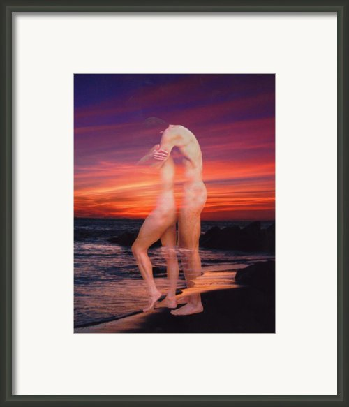 Lovers Dream Framed Print By Kurt Van Wagner