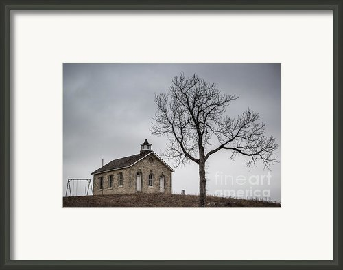 Lower Fox Creek School 1 Framed Print By Jim Mccain