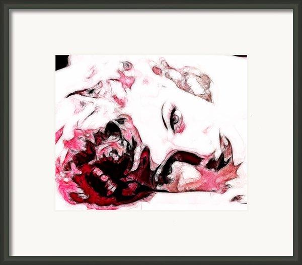 Lucille Ball Framed Print By D Walton