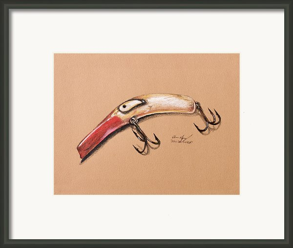 Lure Framed Print By Aaron Spong