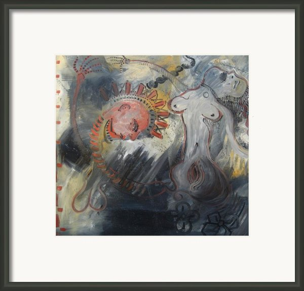 Lust Framed Print By Michael Kulick