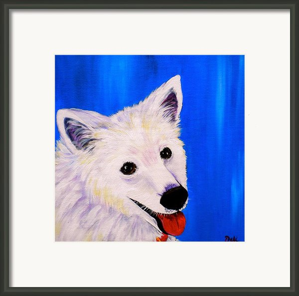 Mac Framed Print By Debi Starr