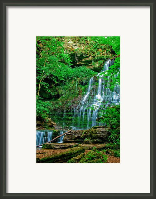 Machine Falls Framed Print By Brian Mchugh