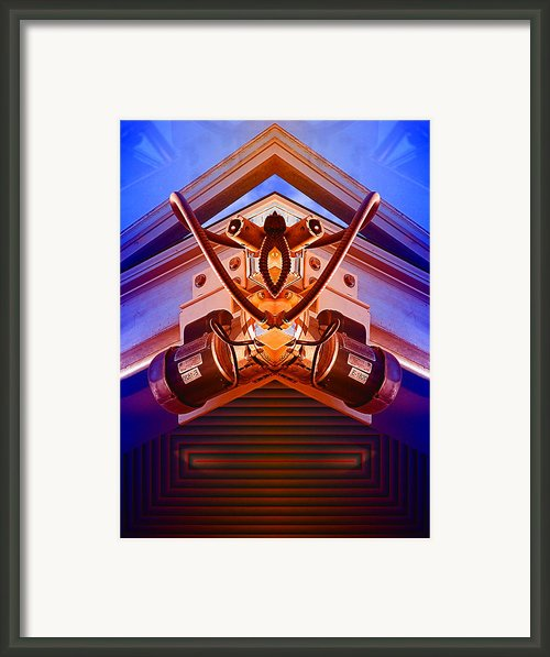 Machine Maid Framed Print By Wendy J St Christopher
