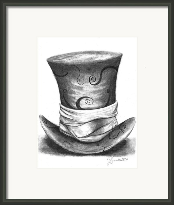 Mad Hat Framed Print By J Ferwerda