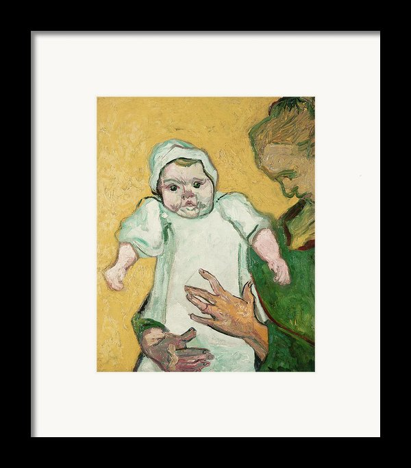 Madame Roulin And Her Baby Framed Print By Vincent Van Gogh