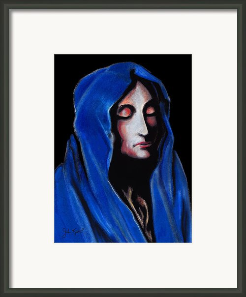 Madonna Of Sorrows Framed Print By John Keaton