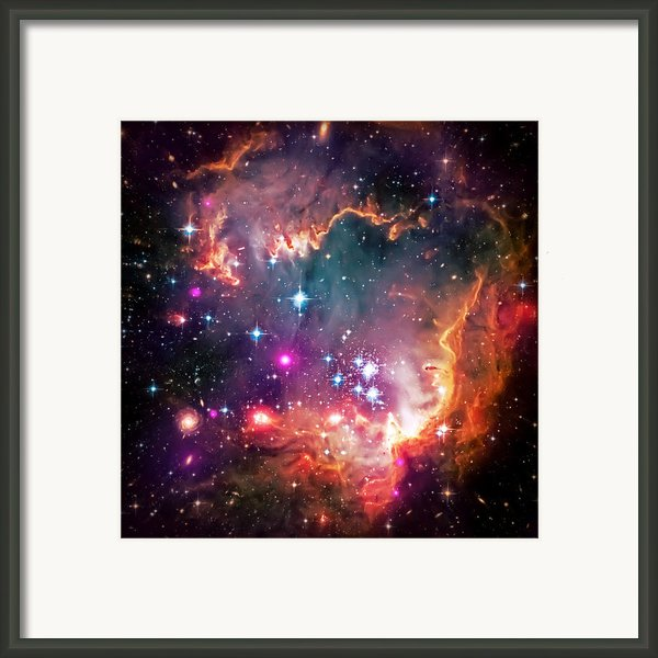 Magellanic Cloud 2 Framed Print By The  Vault - Jennifer Rondinelli Reilly