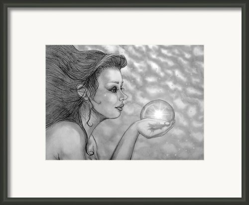 Magic Gazer Framed Print By Dawn  Gagnon
