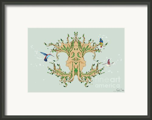Magic Tree Framed Print By Disko Galerie