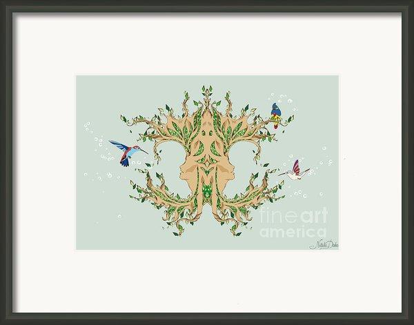 Magic Tree Framed Print By Disko Galerie