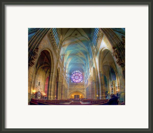 Magical Light Framed Print By Joan Carroll